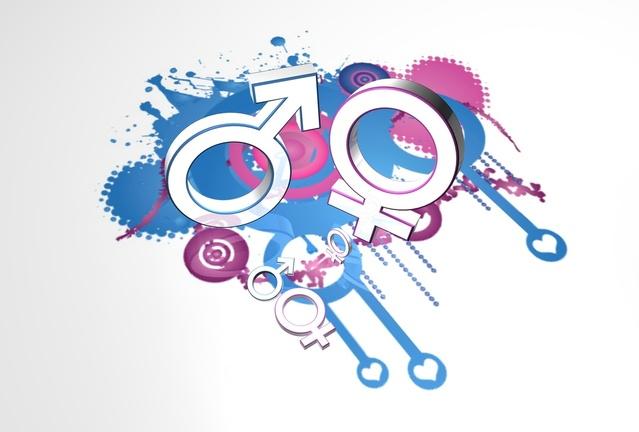 Mužský a ženský pohlavný symbol
